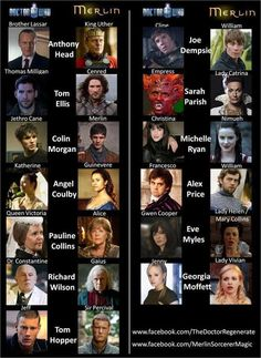 (Doctor Who + Merlin actors). Actually, this is all British actors. They just seem to cycle through show after show :) The BBC just holds onto good actors when they find them! Fandom Crossover, My Tumblr, Geek Out, Colin Morgan, British Actors, Dr Who, Superwholock, In This World, Fangirl