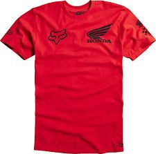 New Fox Racing Mens Guys Honda Basic Tee T Shirt Red MX ATV Motocross