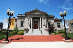 Carnegie Library in Anderson, Indiana