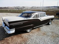 1957 Ford Fairlane 500. The best car ever. My family's car. We had two of them and I have such great memories of them.
