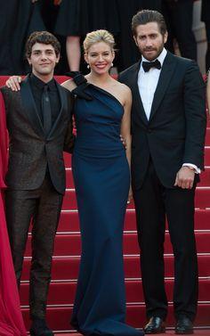 Pin for Later: Personnalités Françaises et Stars Hollywoodiennes Ont Envahi Cannes Jour 1 Xavier Dolan, Sienna Miller et Jake Gyllenhaal