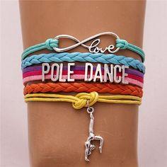 Infinity Love Pole Dance Bracelet