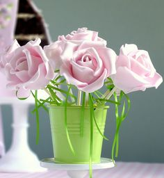 Flower Cake Pop