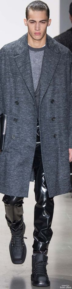 Calvin Klein Menswear Collection and luxury details that make a difference