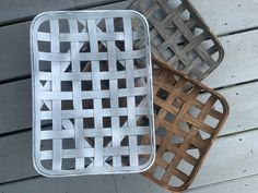 """New Stains #etsy shop: 10 X 14"""" Handmade Tobacco Basket 