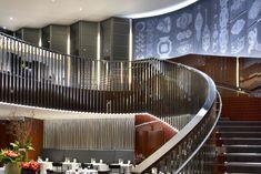 Il Ristorante in the Bulgari Hotel & Residences, London boasts and Bulgari Hotel London, Bvlgari Hotel, London Hotels, Home Design Magazines, Relaxation Room, Hotel Lobby, Lobby Lounge, Hospitality Design, Architect Design