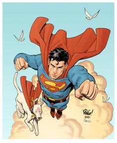 docshaner:    Superman by Mike Wieringo and Evan Shaner