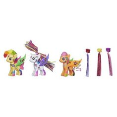 My Little Pony Pop Sweetie Belle, Scootaloo and Apple Bloom Deluxe Style Kit
