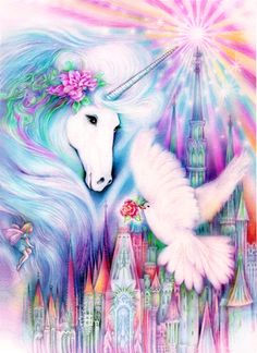 """Magical Peace"" ...By Artist JoanMarieArt.com..."