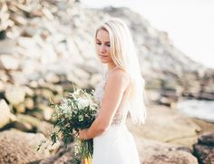 Massachusetts Seaside Bridal Inspiration - Inspired by This