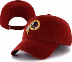 001cb1718 NFL Washington Redskins Clean Up Adjustable Hat