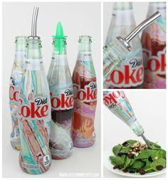 Diet Coke It's Mine bottle DIY #ad #MyUnique4