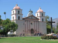 California Missions | California Dreamin: Southern California: Santa Barbara Mission