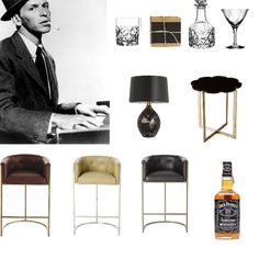 Use Furniture & accessories to create a theme - Set 'em up Joe