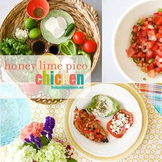 honey lime pico chicken | the handmade home