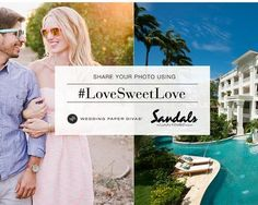 Win a $3,000.00 3-night vacation for two to any of the 15 Sandals Resorts in Jamaica, Antigua, Saint Lucia, the Bahamas, Barbados & Grenada and a $1,000 credit toward Wedding Paper Divas merchandise.    Share your proposal story and upload a photo of...