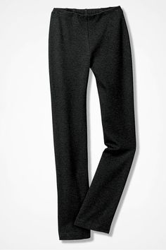 Ponte Perfect® Holly Pants, Charcoal Heather