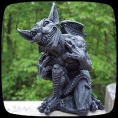 Detalles De Gargoyle Muro Teelichthalter Personaje Estatua