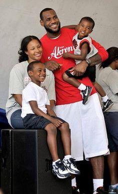 LeBron James & Family