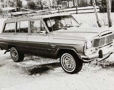 Jeep Wagoneer in Aspen by Andy Warhol