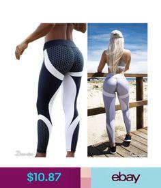Honeycomb Patchwork Push-Up Leggings #ebay #Fashion