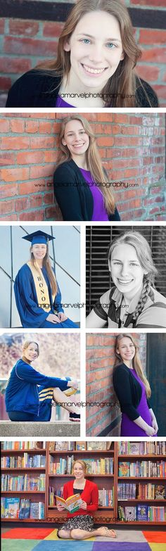 Senior session gap and gown  Angela Marvel Photography | Tacoma Newborn, Baby, Child and Family Photographer