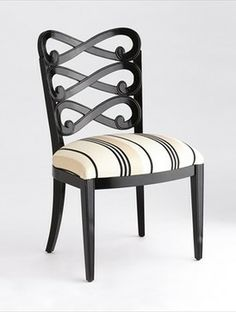 Jan Showers Loop Dining Chair traditional dining chairs and benches