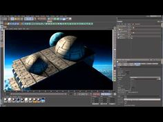 ▶ Cinema 4D Tutorial - Space Lighting - Part 3 - Light and Indirect Lighting - YouTube