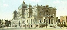 The AKTAION Palace Hotel once crowned southern Athens Greece. It was built in 1903 but demolished in Athens City, Athens Greece, Bauhaus, Old Photos, Vintage Photos, Private Hospitals, History Of Photography, National Theatre, Ancient Greek
