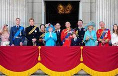 Família real inglesa