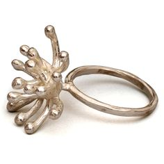 Sterling Starburst Ring - Sterling Silver by Liaung - Chung Yen