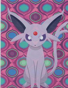 Pokemon Center 2012 Eevee Collection A4 Clear File Folder Espeon in Collectibles, Animation Art & Characters, Japanese, Anime | eBay!