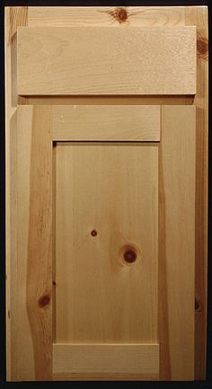 Good Knotty Pine Shaker Style Cabinets
