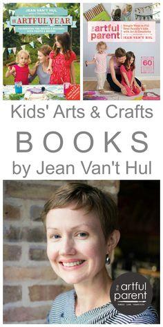 Kids Arts and Crafts Books by Jean Van't Hul