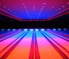 In Miami for Art Basel? Head to the site to see the city's must-stop spots including this super-saturated bowling alley and iceskating rink in the basement of the Miami Beach EDITION  @editionhotels by coolhunting
