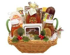 Wisconsin Gourmet Assortment Holiday Gift Basket #WisconsinMade