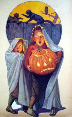 Featuring all things Halloween all year round. From spooky to fun! Happy Hauntings, M Retro Halloween, Vintage Halloween Cards, Halloween Prints, Halloween Items, Halloween Pictures, Holidays Halloween, Happy Halloween, Halloween Decorations, Halloween Costumes