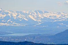 Zürich, Zürichsee und Alpen - Fotos [hikr.org]