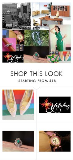 """""""Work Work Work!"""" by yxtabay ❤ liked on Polyvore featuring Dooney & Bourke, jewelry and Yxtabay"""