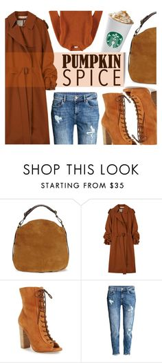 """Pumpkin Spice"" by monmondefou ❤ liked on Polyvore featuring UGG, Marni, Kristin Cavallari, brown, pss and pumpkinspice"
