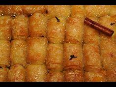 γαλακτομπουρεκάκια της κόλασης 2 ολοκληρωμένη συνταγή cuzinagias how to make galactoboureko - YouTube