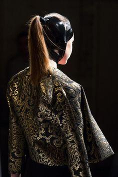 Carla Zampatti model's hair inspired by Shoes of Prey!