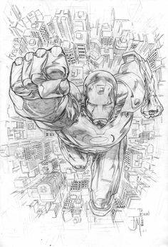 Iron Man by manapul.deviantart.com on @deviantART