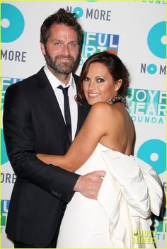 Mariska Hargitay hit the red carpet at the 2013 Joyful Heart Foundation Gala on Thursday (May 9) at Cipriani 42nd Street in New York City.  joined at the event by Mariska's husband Peter Hermann