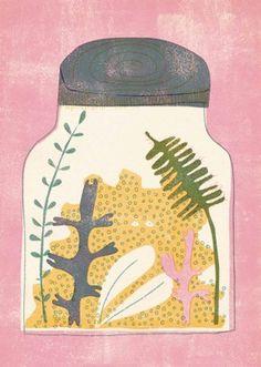 "FINE ART PRINT ""Jar"" for sale reasonable"