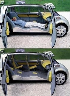 I want this car so I will sleep better on my lunches at work. :)