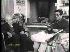 Pier Paolo Pasolini interviewing Ezra Pound