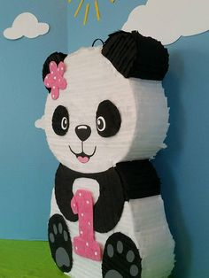 If you cant find a character or design that matches your party, feel free to contact me, I will be happy to create a custom order just for you Panda Birthday Party, Birthday Pinata, Panda Party, Bear Party, Baby Girl Birthday, 1st Birthday Parties, Panda Decorations, Girl Birthday Decorations, Chinese Theme Parties