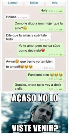 Ouch - Friendzone Funny - Friendzone Funny meme - - Ajajajjaajaj The post Ouch appeared first on Gag Dad. Funny Spanish Memes, Spanish Humor, Stupid Funny Memes, Funny Texts, Funny Men, Mexican Memes, Memes In Real Life, Boyfriend Memes, Serendipity