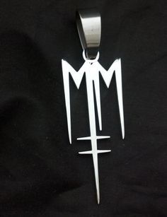 marilyn manson logo | MARILYN MANSON BORN VILLAIN CHARM